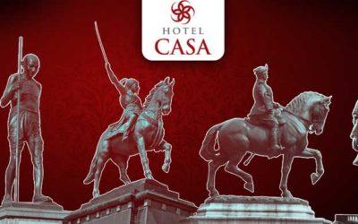 Hotel Casa Statue