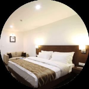 Luxury Amenities Hotel Rooms vadodara