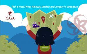 Pick A Hotel Near Railway Station And Airport in Vadodara | Budget Hotel Vadodra | 3 star Hotel Vadodara